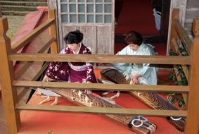 佐渡 長谷寺で演奏致しました