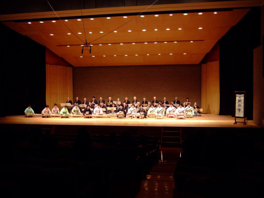 新潟市三曲演奏会終了いたしました