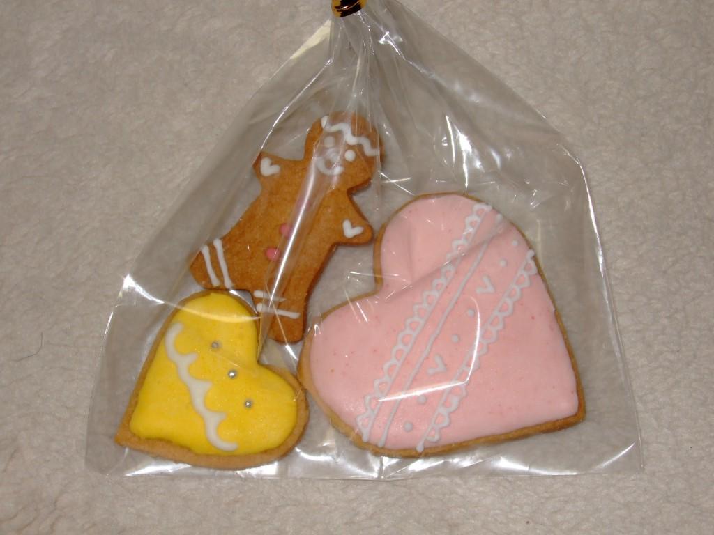 バレンタインクッキー頂きました!