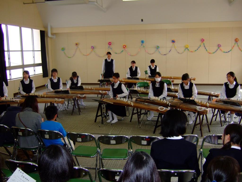 箏曲部定期演奏会でした