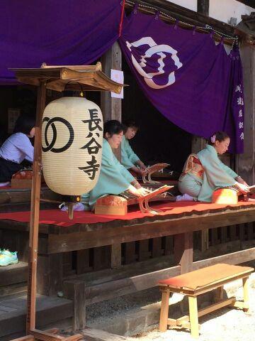 佐渡島長谷寺で演奏致しました