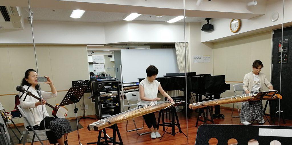 小編成の合奏始めています